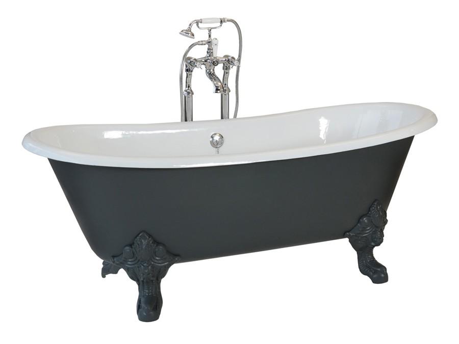 freistehende gusseisen badewanne badewanne badewannen freistehend modern design. Black Bedroom Furniture Sets. Home Design Ideas